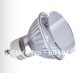 220V 50W GU10 halogen bulb(China (Mainland))