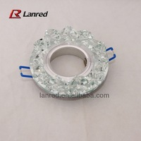 Free shipping 2 PCS/lot  42mm(ID)*95mm(OD) Crystal  Lamp decoration  Wedding decoration