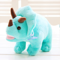 Plush toy small doll rhino dolls cloth doll car suction cup hangings d205