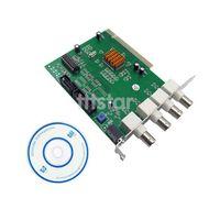 4-Channels CCTV System DVR Security PCI Capture Card  #SV116
