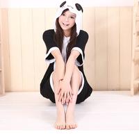 Hot sales New cartoon piece pajamas Animal cotton pajamas Short-sleeved summer Couple style sleepwear S M L XL Panda