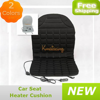 "Universal DC12v car seat heater cushion38""*19.5""Car Seat Cushion Cover Seat Heater Warmer cushion for Color  black and white"
