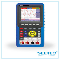 Handheld digital storage oscilloscope 2 in 1 DSO+Multimeter usb flash disk storage bandwidth 60mhz