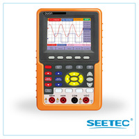 2 in 1 DSO+Multimeter  Handheld digital storage oscilloscope  bandwidth 100mhz USB Storage