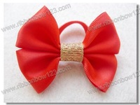 100% satin fabric for sewing elastic decorative bows
