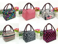 2013 fashion waterproof Cloth Small Lunch Bags Folding Shopping Bag Multi-function Cute Mini canvas Handbag HY5