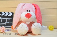 2013 toys for children christmas gift baby toy baby gift pink rabbit plush toys