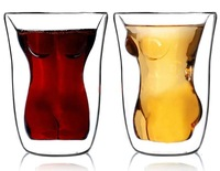 Crystal Beauty Women Naked Cup Vodka Shot Whiskey Home Red Wine Beer Tea Glass Drinking Cup Mug Barware oz 180ml,Free shipping