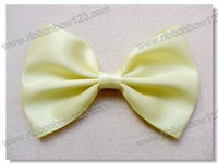 Girls zakka ribbon bows simple look 3'' width bow