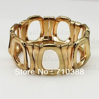 BB31242 1PCS Fashion style gold color Enchanting Stretch Bangle Bracelet