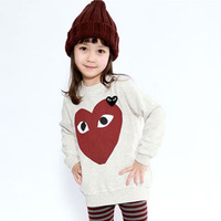 Child basic shirt female child long-sleeve T-shirt design long pullover 2013 children's autumn and winter clothing m128030