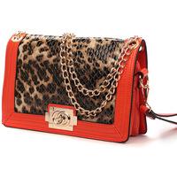 Leopard grain bag cover type restoring ancient ways is the chain shoulder bags women messenger bag shoulder bag mini handbags