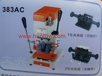 Model 383AC WenXing key cutting machine with vertical cutter