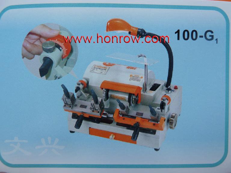 Model 100G1 two head WenXing key cutting machine with external cutter(China (Mainland))