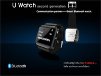 Newest U Watch 2 Smartwatch High Quality Bluetooth Phones Watch Smartwatches with Phonebook Call MP3 Alarm For Smartphone
