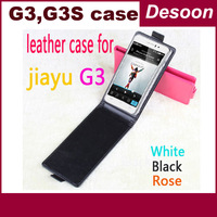 Freeshipping Flip Jiayu G3S Leather Case / Leather Case for Jiayu G3 / Jiayu G3 Leather Case/ Jiayu G3T Case/vicky