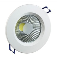Dimmable 10W/12W COB LED Downlight , led down light free shipping 6pcs/lot