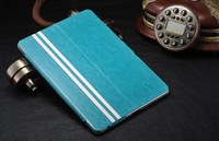 Newest with stand Slim thin sheep pattern Top Leather Holster Case For ipad 5 + Free DHL Shipping MOQ:30pcs/Lot,C0066