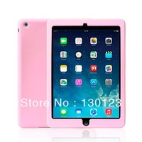 Slim Soft Silicone Case Shell Skin for Ipad air Ipad5 Apple Tablet Simple But Well Protect Your Table PC without retail box