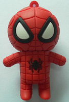 DHL Free Shipping Genuine Capacity spider-man USB Flash Drive usb flash disk 30 pcs/lot