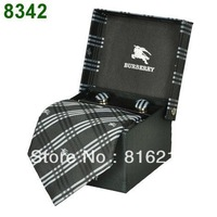 2013 New Design Men Brand Design High Quality Neck Wear Ties With Case Free Shipping