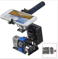 F06927 3-Axis Handheld Brushless Gimbal Self-Stabilization FPV Camera Mount Complete Set for Gopro Hero 2 3 + freeshipping