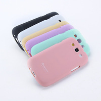 Sweet Color Soft TPU Rubber Skin Case Cover For Samsung Galaxy S3 III i9300 Drop & Free shipping