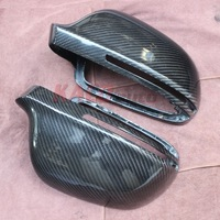 Replacement Carbon Fiber Side Mirror Cover For Audi A4  2009-2012 Free Shipping