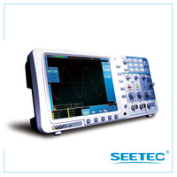 Smart Digital Storage Oscilloscope deep memory  8 inch Color LCD  support USB VGA LAN