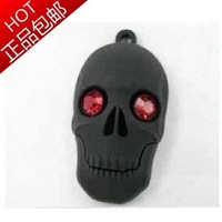U disk cartoon ruby skull usb flash drive 8g