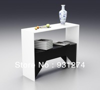 (Free Shipping) Elegant Acrylic Console Table/Lucite Side Table/Plexiglass Pedestal 2031312301