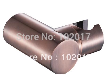 wall mounted round brass hand shower bracket copper(China (Mainland))