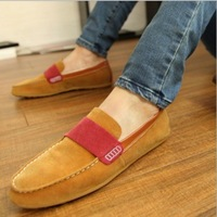 2014 NEW Slip-on Men's Loafers Korean Fashion Man boat shoes matte material hots sale Flats Men sneakers, free shipping