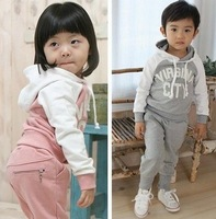 2013 baby clothing sets New Baby boy's/girl's Sports Set 2pcs sport clothing set baby Kids Suit 5pcs/1lot