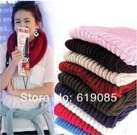 10pcs/lot Free shipping 2013 autumn and winter fashion women warm wool scarf knitting small lap / collars