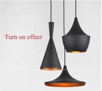 Tom Dixon Pendant Light 3pcs/set,Modern Dining Room Aluminum Shade pendant lamp   -----Free shipping