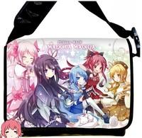 Free Shipping 2013 NEW  Style Puella Magi Madoka Magica  Anime surrounding canvas shoulder bag  Inclined shoulder bag chool bag