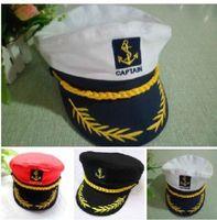 Men Women Navy Performances Caps Captain Romania Naval Hat Seafarers Hat Sailor Sailor Cap Military Hats