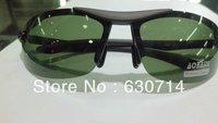 Wholesale 10 pcs/lot  Men Sunglasses Polarized Oculos de Sol Semi-Rimless Driving Glasses UV 400 Black and Brown