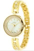Hot Sale Fashion Brand Watch,Korea JULIUS Quartz Luxury Rhinestone Ladies Wristwatches,three-dimensional Mirror Steel Watches