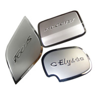 Kimberly brilliance fsv junjie fuel tank cover car junjie modified products stainless steel