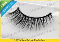 Free Shipping 3pcs/lot RM010 super fuller, thickness mink eyelashes style,100% real siberian nature mink fur eyelash