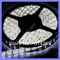 SMD3528 5M Waterproof IP65 Led Light Flexible Strip 600 Led Pure White 12V 16.4 Ft/5M/Roll