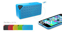 2014 Newest Jambox Style bluetooth speaker X3 with Retail box Support Micro SD Card for Iphone 5S 5C 4S 5 Colors Free Shipping