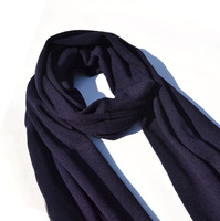 Solid color male scarf business casual isconvoluting autumn and winter thermal long design scarf