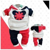 New 2013 baby boys tiger clothing set cartoon tracksuits A29 top quality
