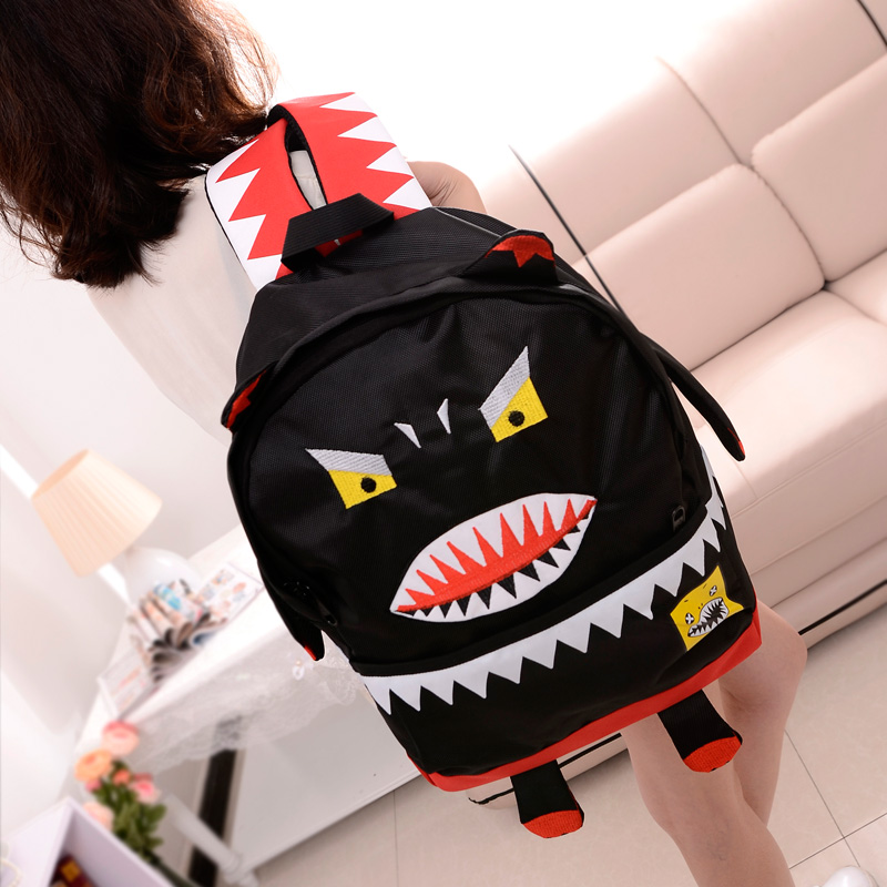 Large capacity 2013 totoro backpack student school bag women's handbag backpack double sided(China (Mainland))