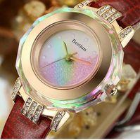 Brand BESTLUN women dress watches luxury jelly watch fashion style for lady