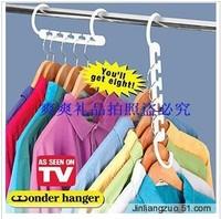 Free shipping!Wonder hanger multifunctional clothes hanger magic hanger