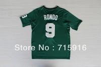 13/14 Season Christmas Edition #9 RONDO embroidered green jersey